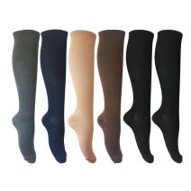 6 Pairs of Unisex Compression Socks (15-20mmHg) for Running, Nurses, Shin Splints, Travel, Flight, Pregnancy & Maternity