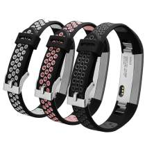 ESeekGo Compatible with Fitbit Alta/Fitbit Ace/Fitbit Alta Hr Bands, 3 Pack Silicone Band Compatible with Fitbit Alta/Fitbit Ace/Alta HR Sport Fitness Wristband