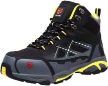 LARNMERN Steel Toe Safety Boots Men Silp Resistant Static Dissipative Puncture Proof Shoes