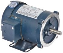 Leeson 102917.00 General Purpose C Face Motor, 3 Phase, S56C Frame, Rigid Mounting, 1/2HP, 1800 RPM, 208-230/460V Voltage, 60Hz Fequency