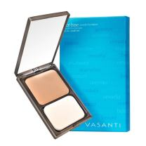 Face Base Oil-Free Powder Foundation with Mineral Pigments by VASANTI - Loose Finishing Powder - Paraben-Free, Never Tested on Animals - Get Glowing Skin Now! (V8 - Medium Deep - Warm)