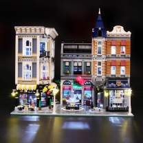 BRIKSMAX Led Lighting Kit for Assembly Square Creator Expert - Compatible with Lego 10255 Building Blocks Model- Not Include The Lego Set