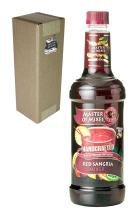 Master of Mixes Red Sangria Drink Mix, Ready To Use, 1 Liter Bottle (33.8 Fl Oz), Individually Boxed