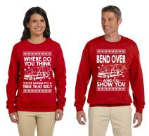 SignatureTshirts Matching Couples Shirt Bend Over Ugly Christmas Sweater Holiday Todd and Margo Sweatshirts