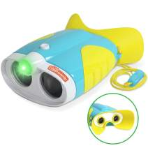 Little Experimenter Night Vision Binoculars for Toddlers and Kids with 2X Magnification and Soft, Comfy Viewfinder