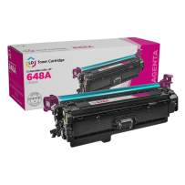LD Remanufactured Toner Cartridge Replacement for HP 648A CE263A (Magenta)
