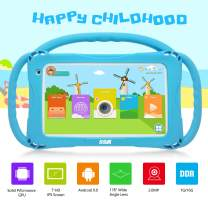 Kids Tablet, Android 9.0 Tablets, for Learning and Entertaining,Kids Edition Tablet PC Quad Core,with WiFi Camera IPS Safety Eye Protection Screen and Parents Control Mode 1GB + 16GB (Blue)