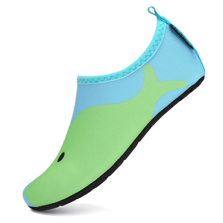 Aqua Socks Water Shoes Mens Women Kids Non-slip Pool Beach Swim Diving Sock New