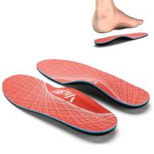 Valsole Plantar Fasciitis Insoles for Men and Women Arch Supports Orthotics Shoe Inserts, Relieve Flat Feet, High Arch, Foot Pain (Mens 6-6 1/2   Womens 8-8 1/2, V125)