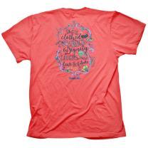 Cherished Girl Women's Strength & Dignity T-Shirt -Coral Silk-