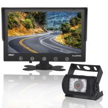 "Upgraded 2017 Backup Rear View Car Truck Camera & Monitor System, Waterproof, 9"" LCD Display Monitor, Night Vision, Anti Glare, For Truck, RV Trailer, Vans Reverse Parking, DC 12-24V - PLCMTR92"