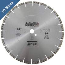 """Archer PRO 14"""" in. Turbo Diamond Saw Blades for Fast Reinforced Concrete Cutting and Cured Concrete Cutting"""