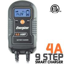 Energizer ENC4A 4-Amp Battery Charger/Maintainer