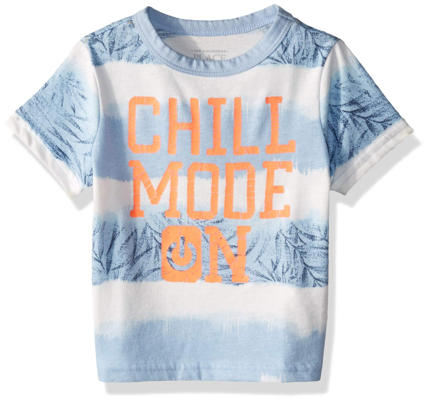 The Children's Place Boys' Short Sleeve Graphic T-Shirt