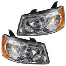 Aftermarket Replacement Driver and Passenger Set Headlights Compatible with 2006-2009 Torrent 15890727 15890728