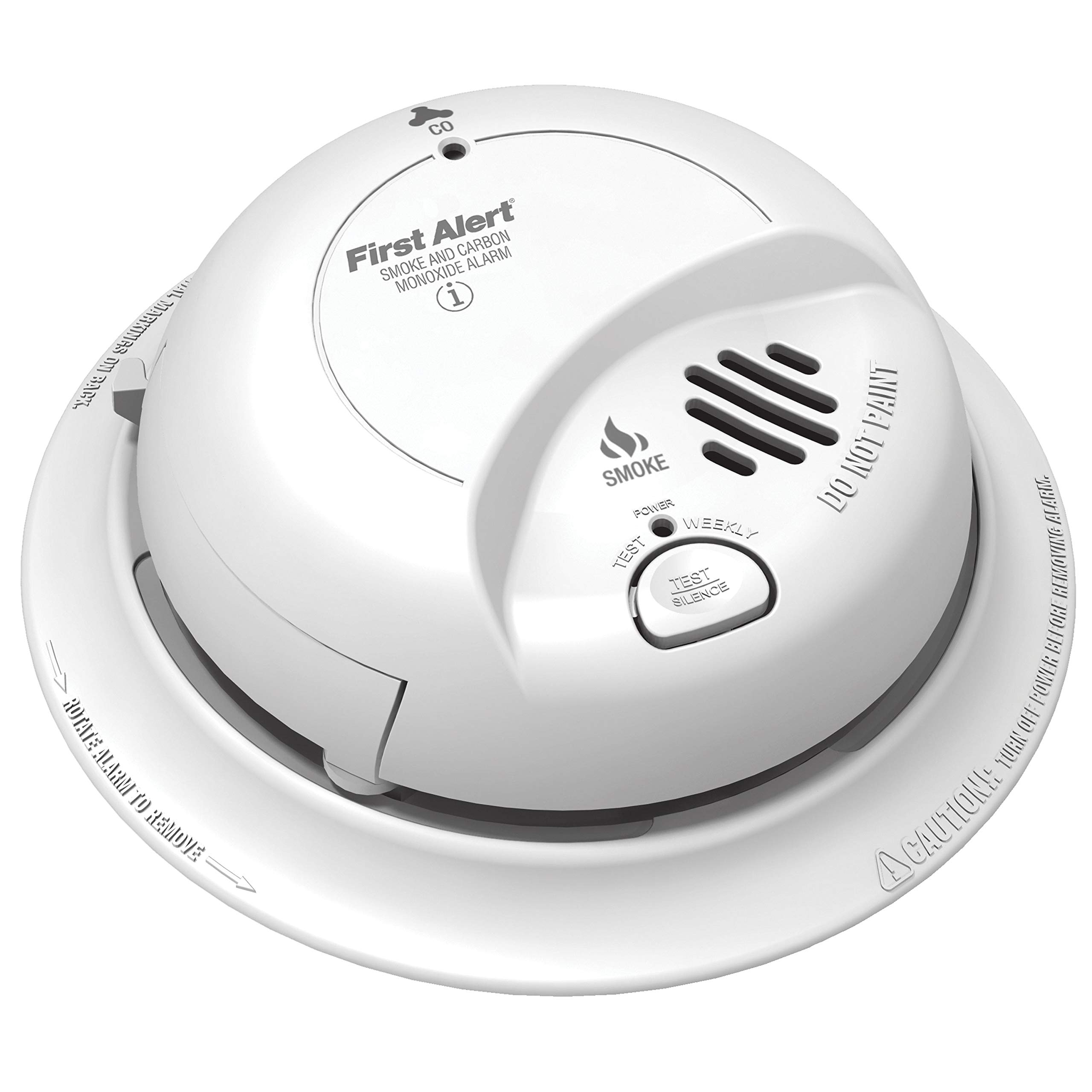 First Alert BRK SC-9120B Hardwired Smoke and Carbon Monoxide (CO) Detector with Battery Backup