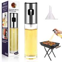 Olive Oil Sprayer for Cooking, 100Ml Food-Grade Misto Olive Oil Sprayer Whit Funnel, for Making Salad, Grilling, Kitchen Baking, Barbecue