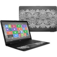 "MightySkins Skin Compatible with HP 17t Laptop 17.3"" (2017) - Floral Lace 