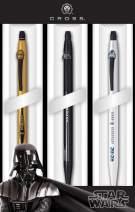 Cross Click Star Wars 3-Pack Gel Ink Pens - Darth Vader, C-3PO, R2-D2 (9857M3)