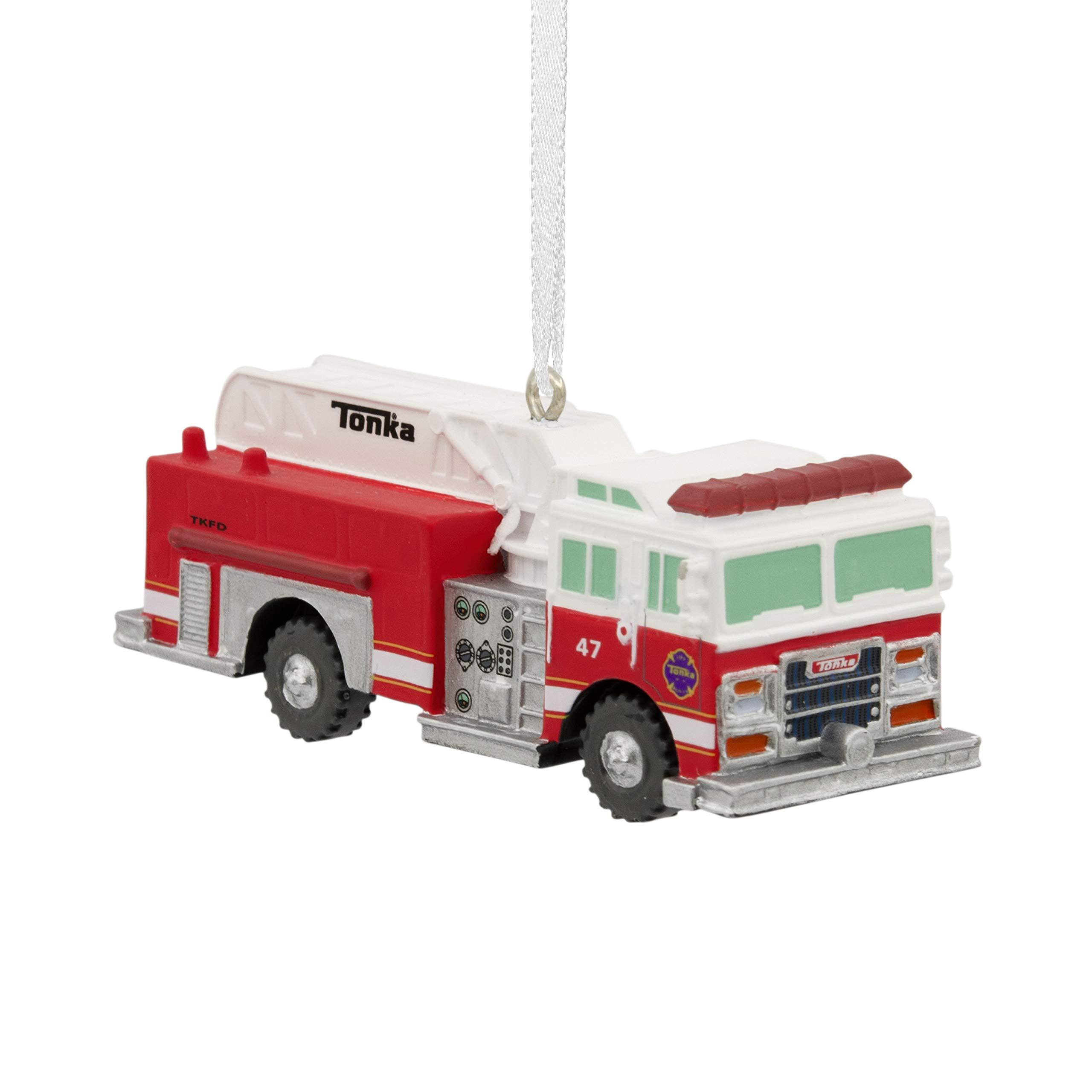Hallmark Christmas Ornaments, Tonka Fire Truck Ornament