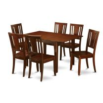 7 Pc Kitchen nook Dining set-breakfast nook and 6 Kitchen Dining Chairs