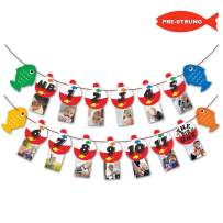 The Big One Bobber Gone Fishing Baby Monthly Photo Banner Little Fisherman First Year Milestone Boys Photo Props Party Cake Smash Decoration Supplies