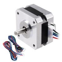uxcell Stepper Motor Nema 17 Bipolar 16mm 0.315NM 1.5A 3.6V 4 Lead Cables for 3D Printer CNC Router Laser Lathe Machine Stage Light Control DIY Hobby