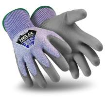 HexArmor Helix 2085 Seamless Thin Work Gloves with Grip and Dexterity, Small