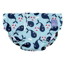 Bambino Mio, Reusable Swim Diaper , Whale Wharf , Extra Large (2 Years+)