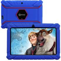Contixo V8-2 7 inch Kids Tablets - WiFi Android Tablet Learning Games Preloaded - 16 GB HD Display - Kid-Proof Case/Screen Protector - Toddler Learning Toys with Advanced Parental Control (Dark Blue)