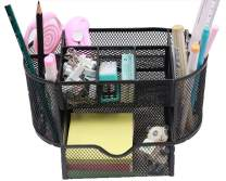Snow Cooler Pen Holders Pencil Holders Desk Organizers Office Organizers for Desk, 8 Compartments