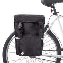Allnice Trunk Bag 15L Bicycle Panniers Pack Cycling Luggage Accessories Water Resistant Rear Seat Pannier Bag
