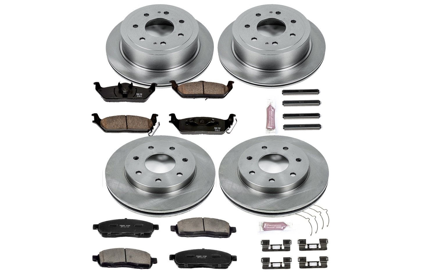 Autospecialty KOE4006 1-Click OE Replacement Brake Kit