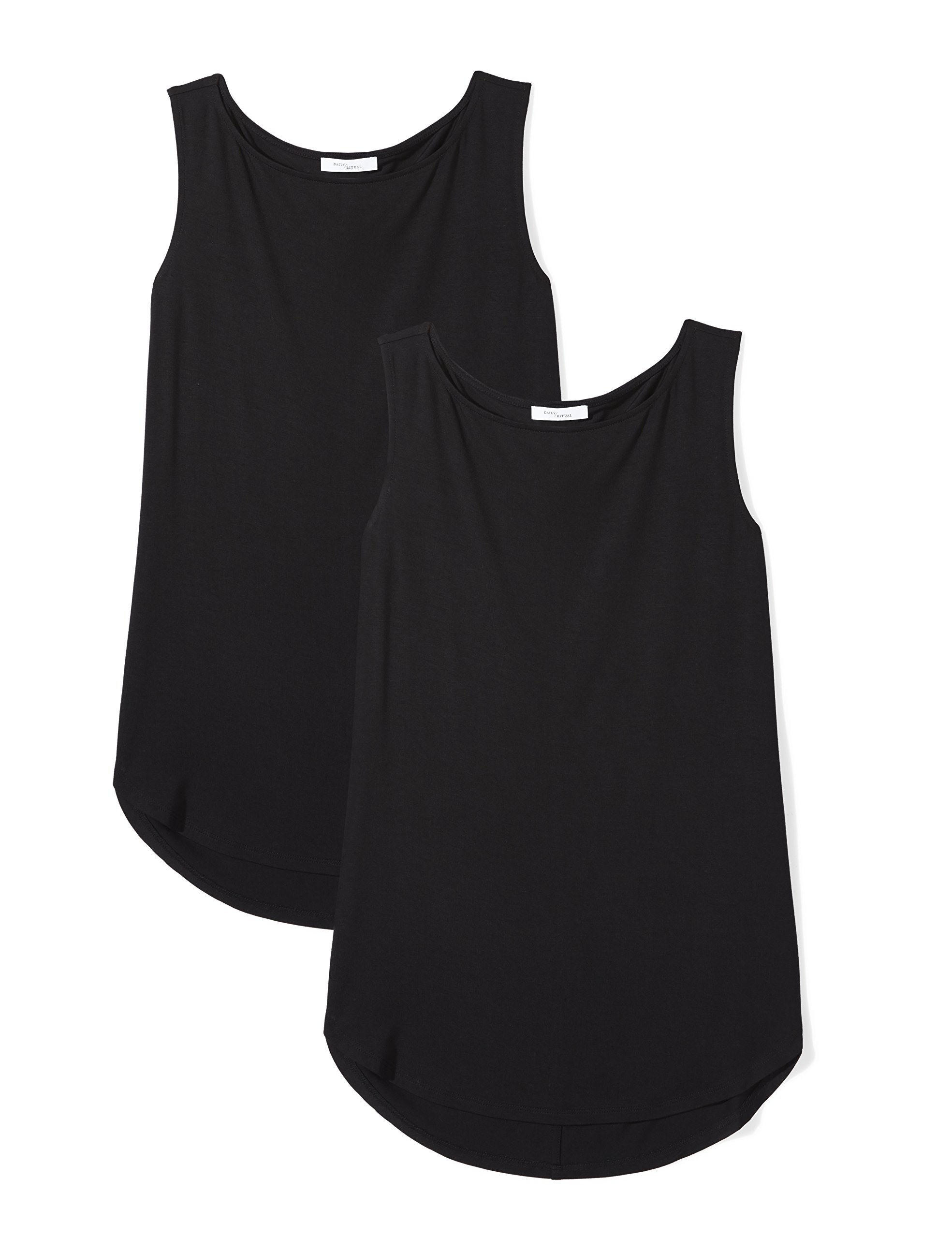 Amazon Brand - Daily Ritual Women's Jersey Bateau-Neck Tank Top
