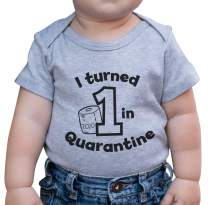7 ate 9 Apparel Baby's First Birthday Quarantine Outfit