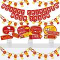 Big Dot of Happiness Chinese New Year - Banner and Photo Booth Decorations - 2020 Year of the Rat Party Supplies Kit - Doterrific Bundle