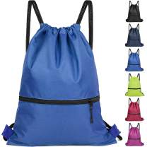 Drawstring Backpack Bag for Men Women Kids - Great for Yoga, Travel, Hiking, Beach Bags - 12 Colors