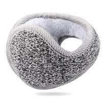 Unisex Foldable Ear Warmers Z-Dear Knit Luminous Behind the Head Winter Earmuffs
