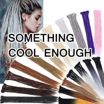 SEGO 20 Inch Dreadlock Extensions for Women/Men Synthetic Handmade Dread Extension Long Single Ended Hippie Style Reggae Hair #AshBlonde 20 strands