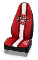 Coverking Universal Fit Collegiate 50/50 Bucket Seat Cover - Neosupreme (San Diego State University)