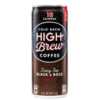 Cold Brew Coffee, Black and Bold, 12 Count (8 Ounce)