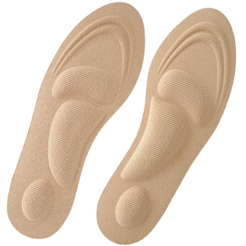 Beautulip Foam Insole Soft Shoe Insert Metatarsal Relief Comfort Cushioning for Feet (L: Women's 8.5~13.5 / Men's 7~12)