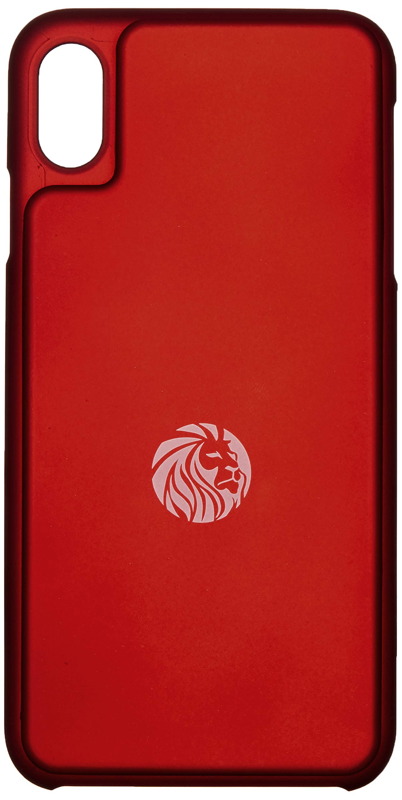 Lioned Fitcase red for iPhone Xs Max, Food Scale in an iPhone case, Rechargeable Battery by USB c Cable, Track Your macros Where You are, Even on The go, and Protect Your Smartphone