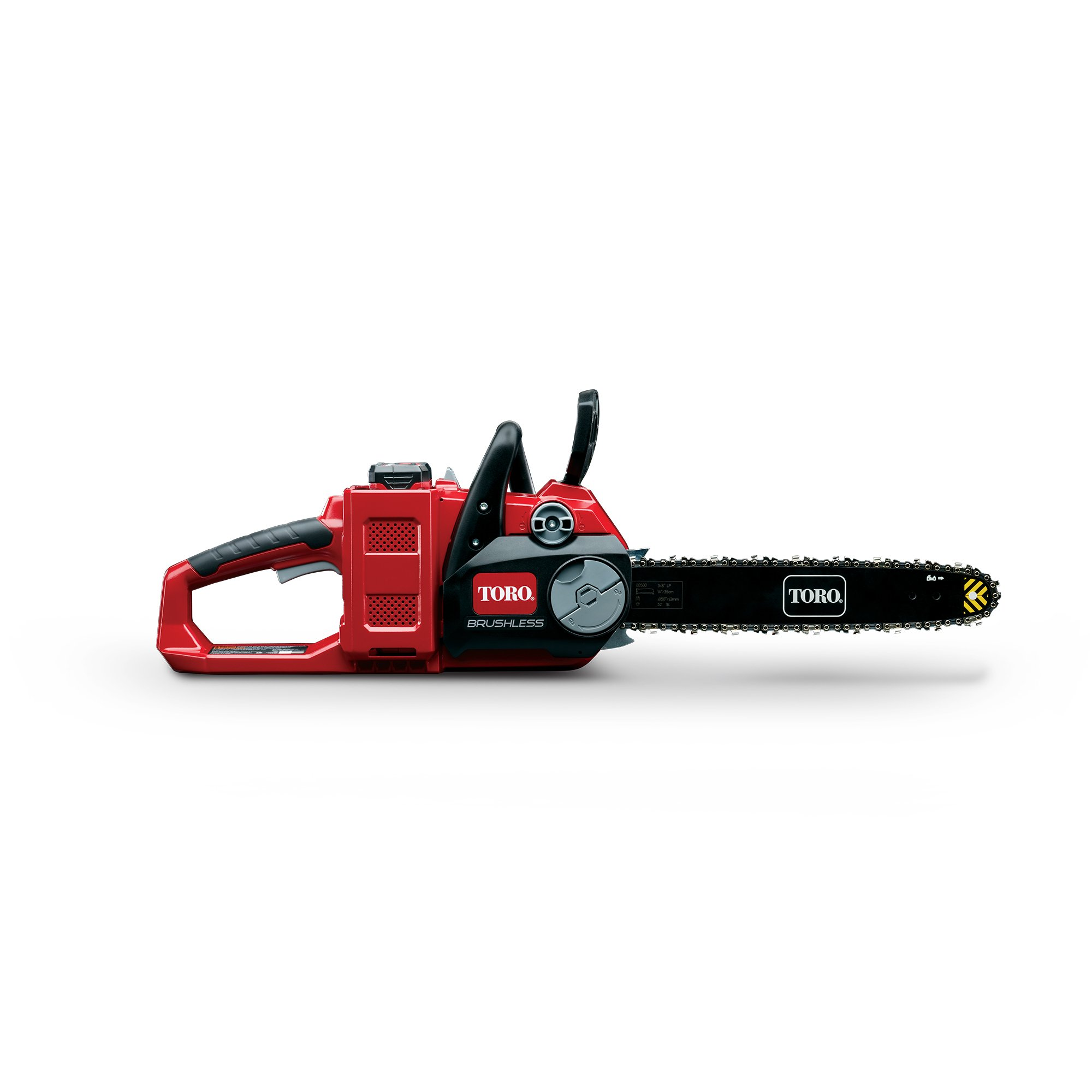 """Toro PowerPlex 51880 Brushless 40V MAX Lithium Ion 14"""" Cordless Chainsaw, 2.5 Ah Battery & Charger Included"""