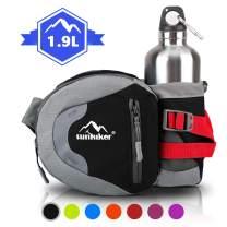 sunhiker Hiking Waist Bag Funny Pack for Men Women, Water Resistant Belt Bag-Running Cycling Camping