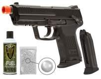 Wearable4U Elite Force H&K45CT GBB(VFC) Airsoft Pistol Green Gas BB Air Soft Gun with Bundle