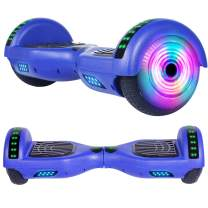 EPCTEK Hoverboard for Kids Two-Wheel Self Balancing Hoverboard with LED Lights - UL 2272 Certified