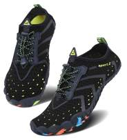 Men Women Water Sports Shoes Slip-on Quick Dry Aqua Swim Shoes for Pool Beach Surf Walking Water Park