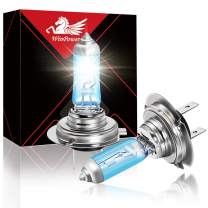 WinPower H7 55W High Brightness Halogen Headlight PX26d Motorcycle Bulb Replacement 5500K Warm White, Pack of 2