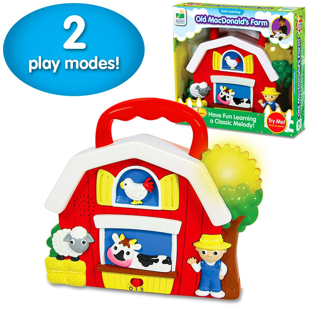 The Learning Journey Early Learning – Old MacDonald's Farm – Baby & Toddler Toys & Gifts for Boys & Girls Ages 12 Months and Up